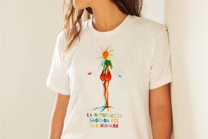 Camiseta – La naturaleza sagrada del ser humano